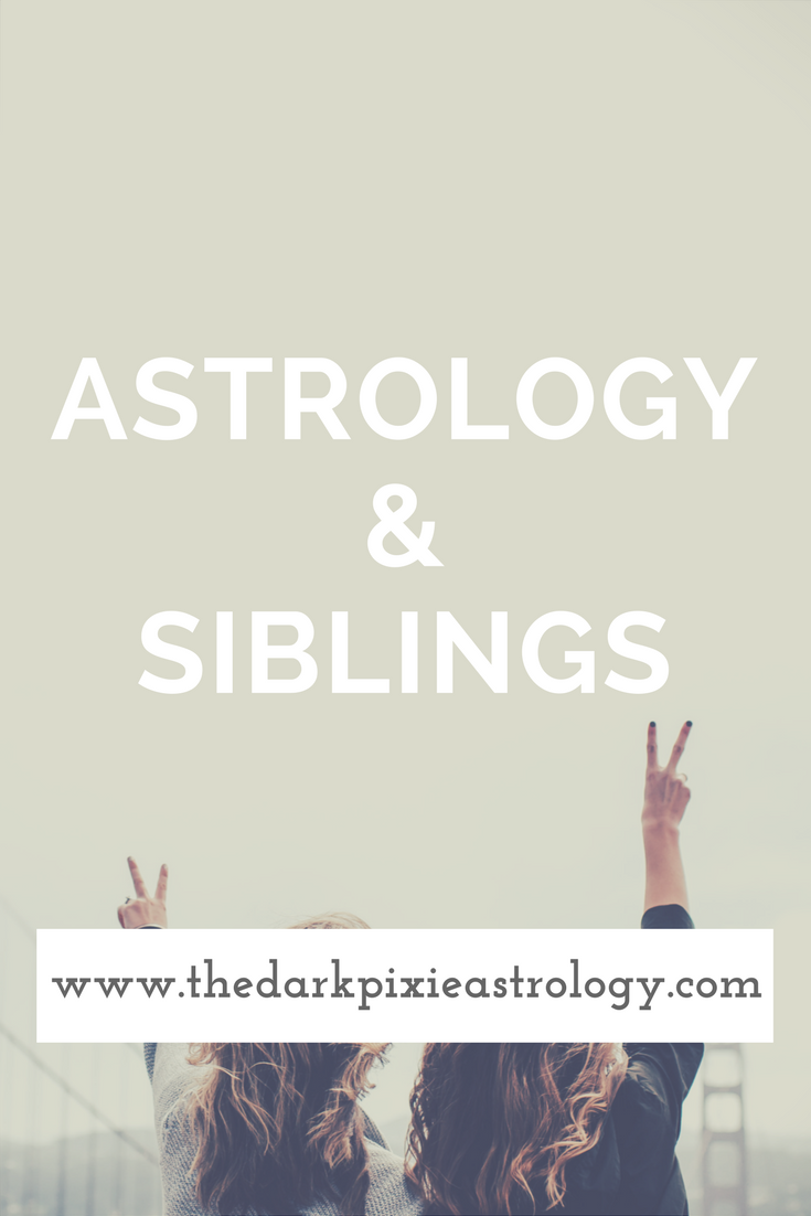 Astrology & Siblings