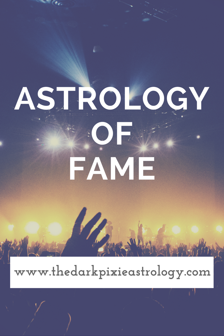 Astrology Of Fame