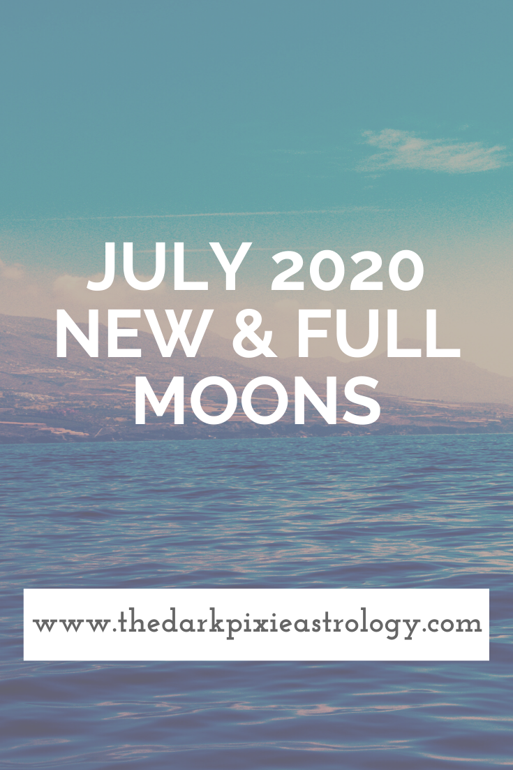 July 2020 New & Full Moons: Lunar Eclipse in Capricorn & New Moon in Cancer - The Dark Pixie Astrology