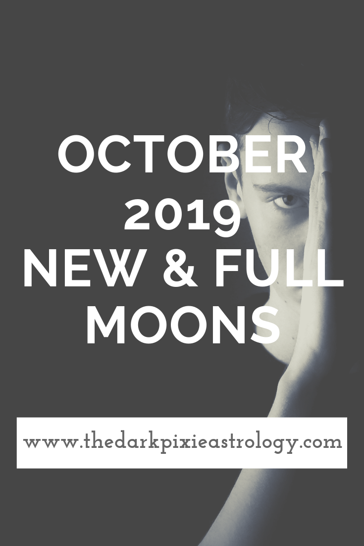 October 2019 New & Full Moons: Full Moon in Aries & New Moon in Scorpio - The Dark Pixie Astrology