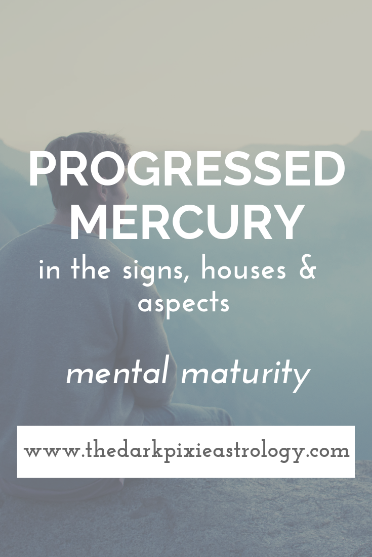 Progressed Mercury in Astrology - The Dark Pixie Astrology