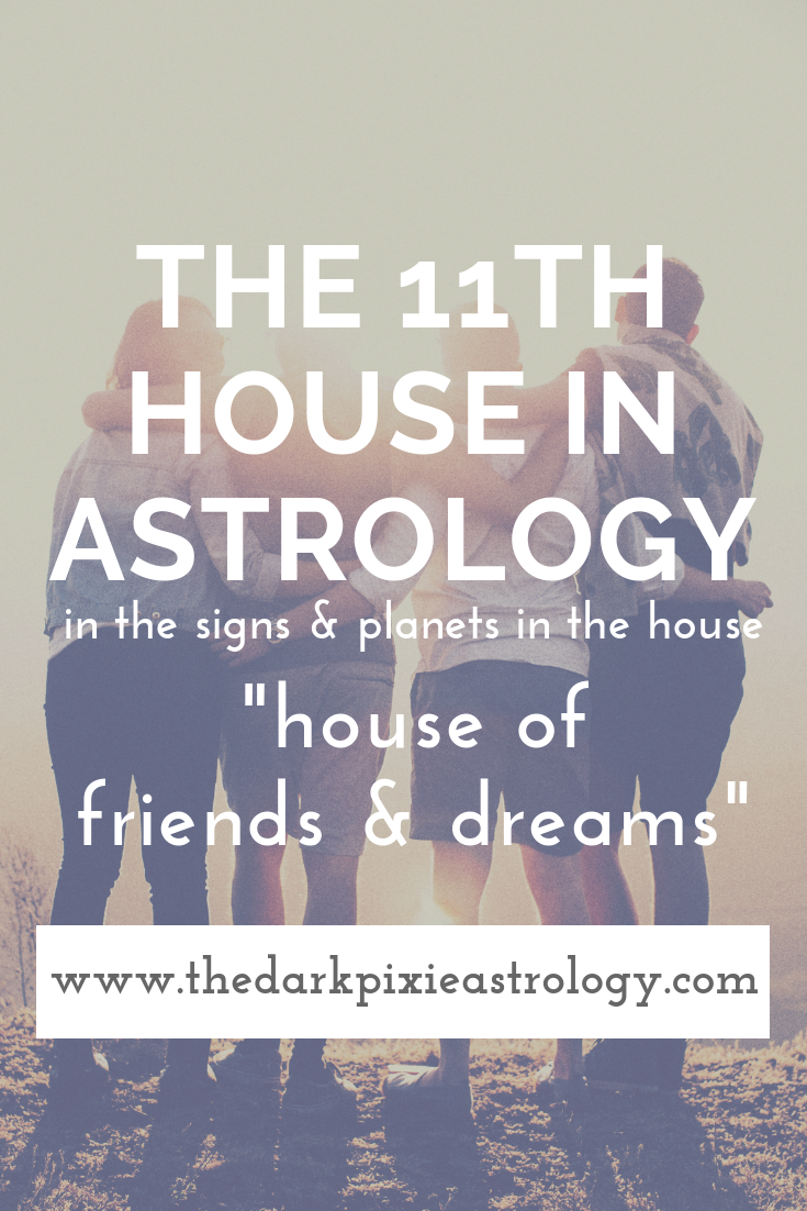 The 11th House in Astrology - The Dark Pixie Astrology